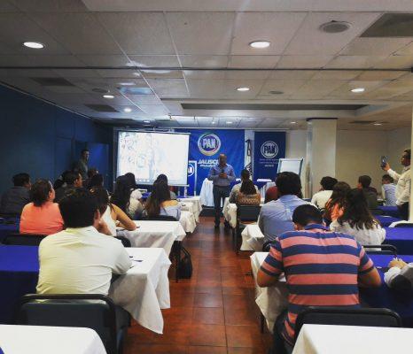 Jóvenes panistas se capacitan con rumbo a elecciones del 2018