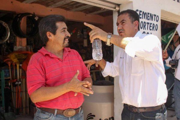 Víctor Chávez ofrece un gobierno incluyente