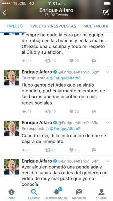 Ofrece Gobierno de Guadalajara disculpas al Atlas FC