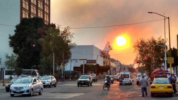 Tarde de incendios forestales