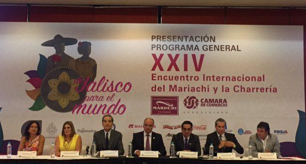 Preparan Encuentro Internacional del Mariachi para agosto