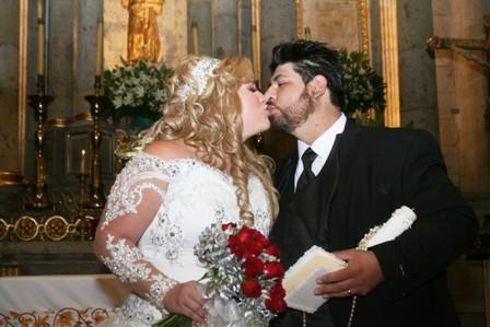 Se casaron Carlos Daniel y Ana Sofía, se veían enamorados y felices
