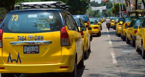 Fuera de circulación más de 100 taxis por no sumarse al Registro Estatal