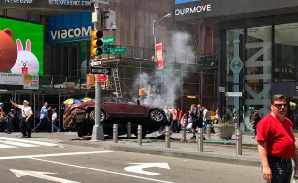 [VIDEO] Difunden video de incidente de tránsito en Times Square