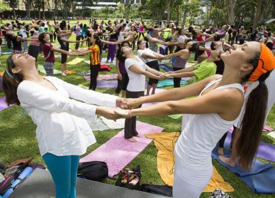 Preparan festejos del Día Internacional del Yoga