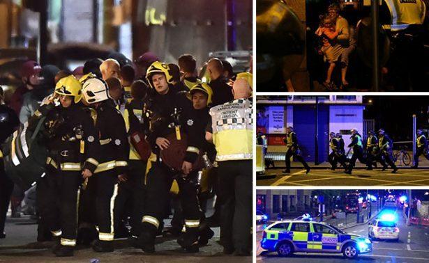 Confirman atentado terrorista en puente y mercado de Londres