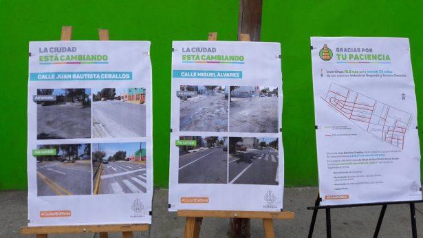 Inaugura Enrique Alfaro obras de pavimentación y renovación urbana en Zona Industrial