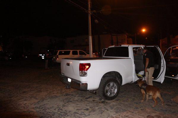 Capturan a cuatro sujetos que presuntamente llevaban una persona privada de libertad