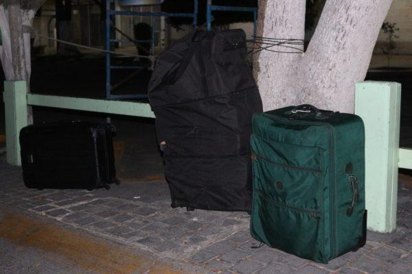 Abandonan 80 kilos de marihuana en tres maletas cerca de Plaza del Sol, en Zapopan