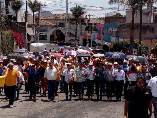 Castellón advierte que defenderán la voluntad del pueblo