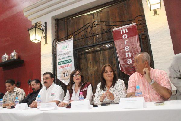Diez organizaciones civiles se suman a Morena