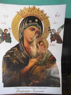 Llevan a cabo festividad en honor a Nuestra Señora del Perpetuo Socorro