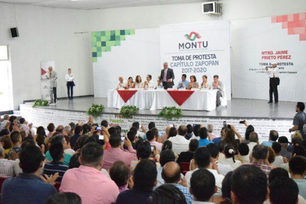 Rinde protesta Jaime Prieto en Montu Zapopan