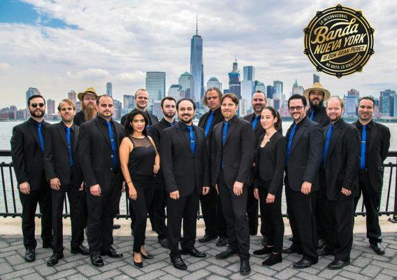 Adán Pérez y su banda Nueva York