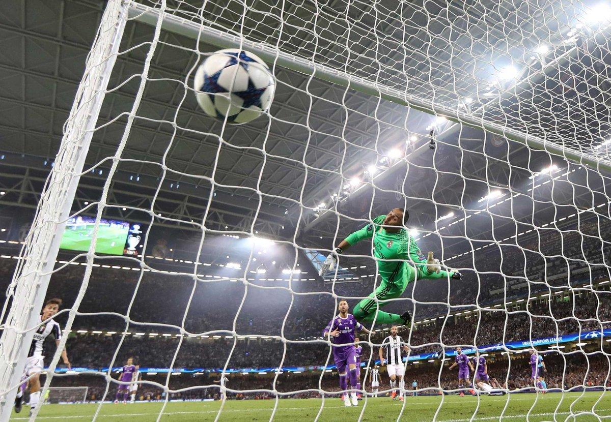 Buffon no pudo en su última oportunidad — Champions League