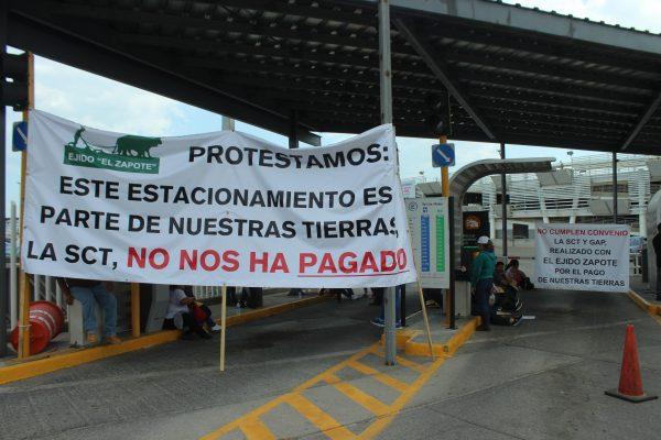 Ejidatarios se niegan a vender más tierras al Aeropuerto