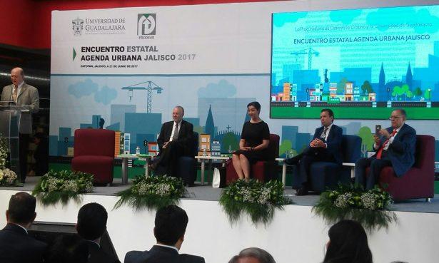 Desarrollo y ordenamiento urbano en el Encuentro Estatal de Agenda Urbana Jalisco 2017