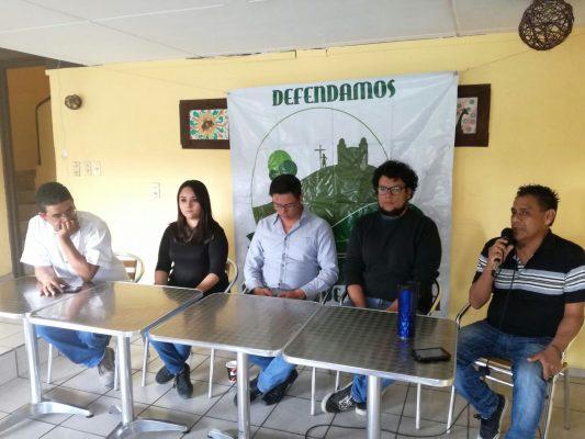 Presentan el Foro Ciudadano en Defensa del Territorio de Jalisco