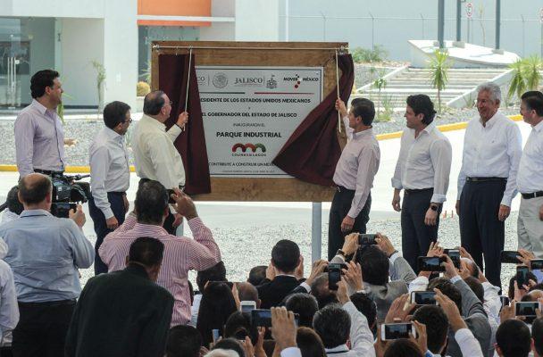 Inauguran Parque Industrial en Lagos de Moreno
