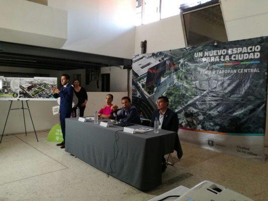 Habrá parque central y un edificio administrativo en la Curva: Lemus Navarro