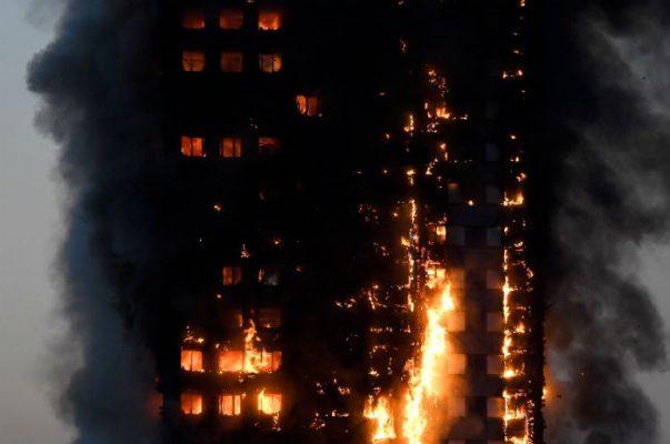 Policía eleva a 12 los muertos por incendio en edificio de Londres