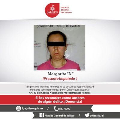 Capturan a mujer que presuntamente causó la muerte de su hija en San Martín de Hidalgo