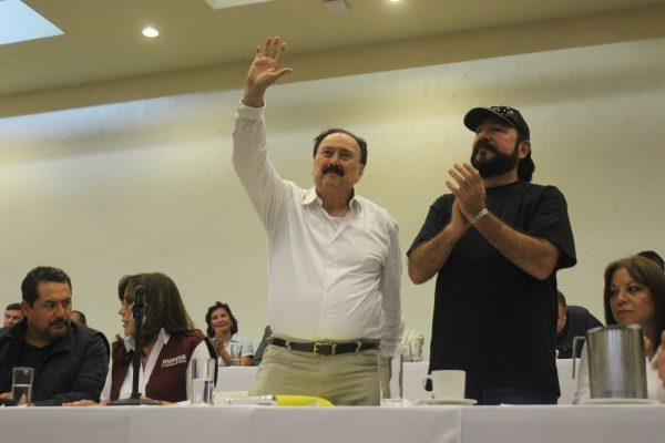 Michel Velasco se registra oficialmente como militante de Morena