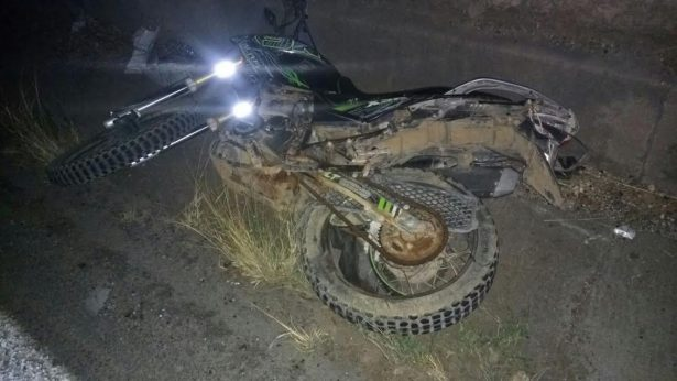 Fallece una pareja al ser chocada la moto en la que viajaban, en el municipio de Magdalena