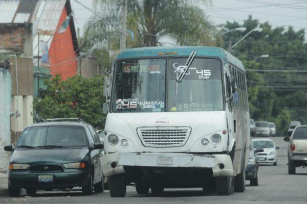 Retorna el servicio de transporte de la ruta 45, pero ahora a través del servicio subrogado de la 603