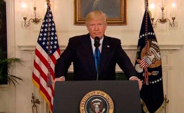Confirma Trump muerte de atacante en Virginia