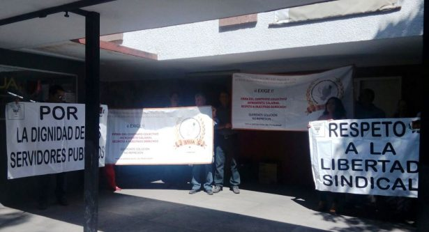 Paro laboral en el Instituto de Justicia Alternativa