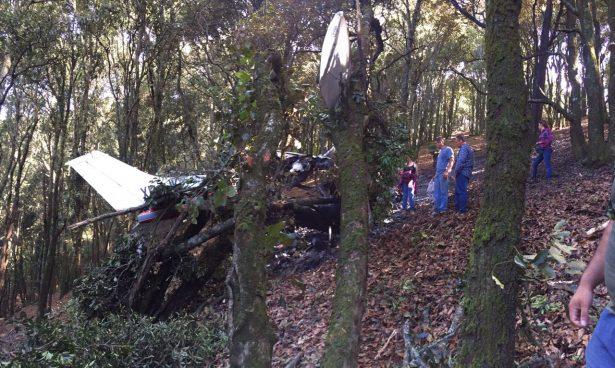 Avionazo: mueren dos tras caída de un Cessna