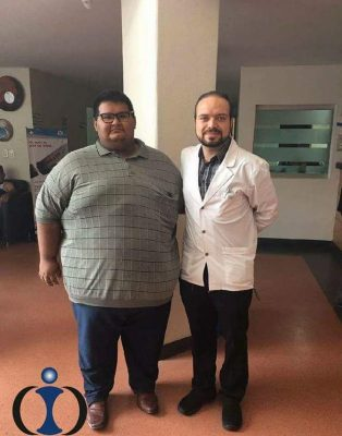 Alberto que pesa 224 kilos, recibirá una oportunidad de vivir mejor