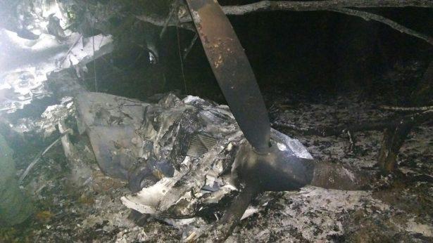 Sólo una persona murió al desplomarse avioneta en Tlajomulco
