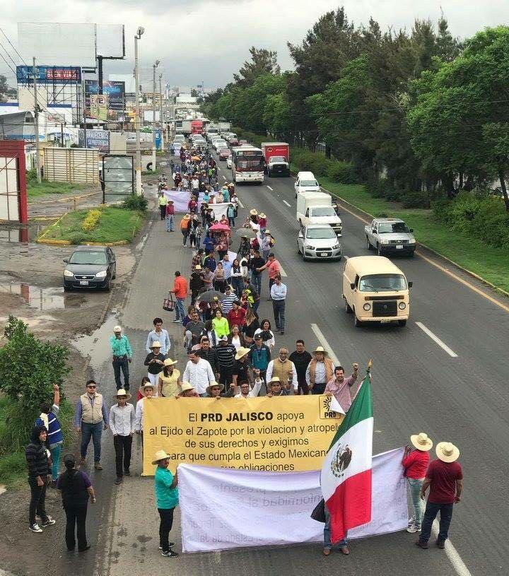Ejidatarios cambian estrategia para reclamar pago de terrenos en el Aeropuerto tapatío