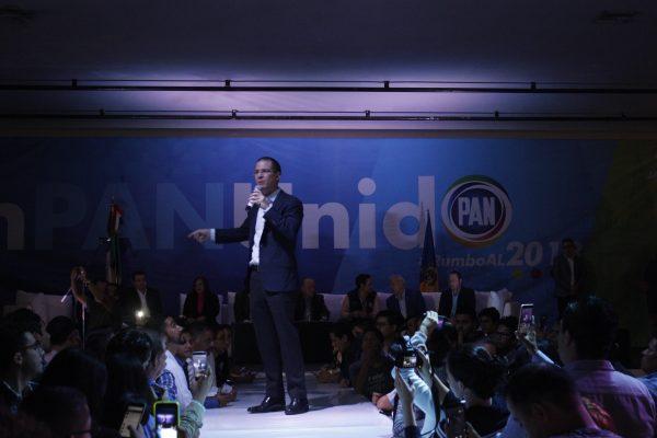 Sin alternancia política continuaría corrupción: Ricardo Anaya