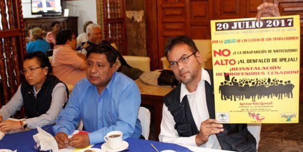 Convocan a marcha los sindicalizados del estado