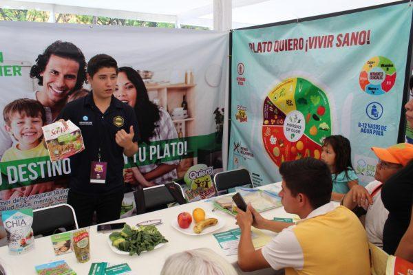 Expo Salud para prevenir obesidad