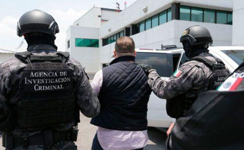 Ingresa Javier Duarte al Reclusorio Norte