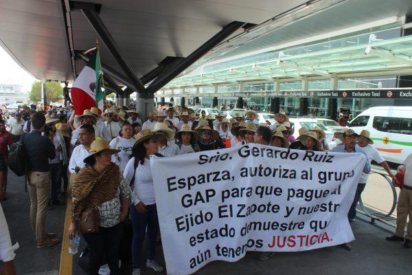 Ejidatarios promoverán acciones legales para impugnar resolución del juez