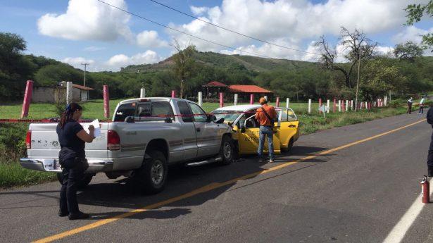 Tremendo choque en Villa Corona cobra dos vidas