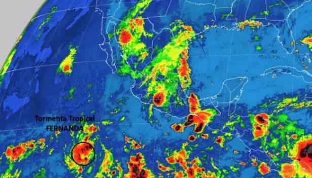 Tormenta tropical Fernanda no afecta al país