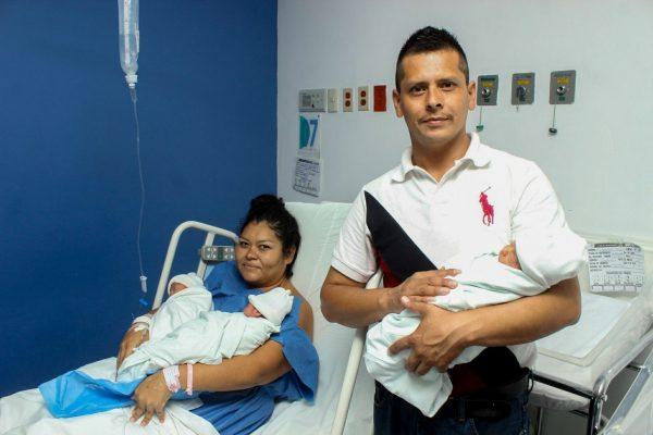 Nacen trillizas en el HC Fray Antonio Alcalde