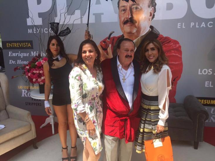 ENRIQUE Michel el año anterior fue un chico Playboy.