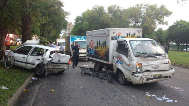 Fuerte choque deja cuatro heridos en Guadalajara