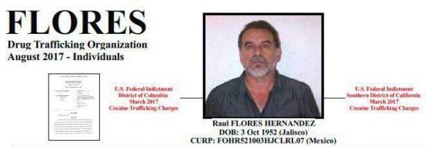 Raúl Flores habría sido detenido en Estados Unidos