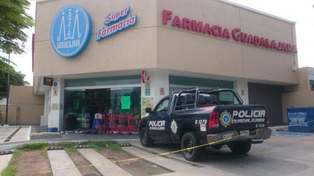 Policías de Guadalajara fueron atacados a balazos por un asaltante