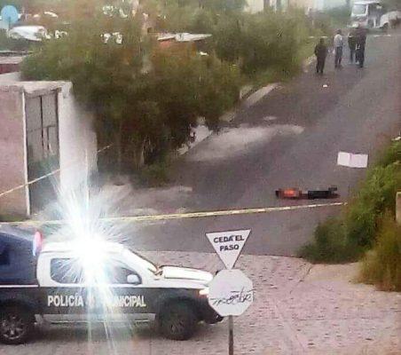 Dejan cadáver torturado en los Ruiseñores, en Tala