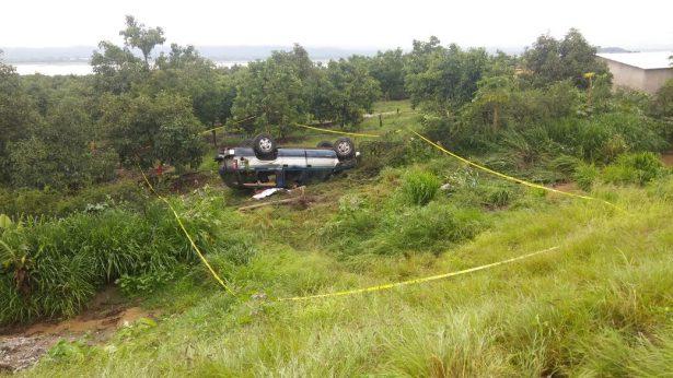 Fallece una persona en volcadora ocurrida en Techaluta de Montenegro