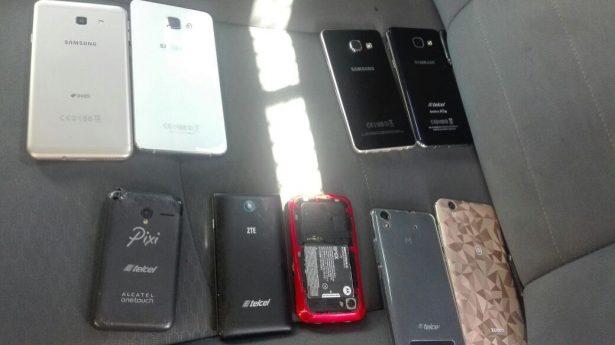 Aseguran autoridades tapatías celulares de dudosa procedencia